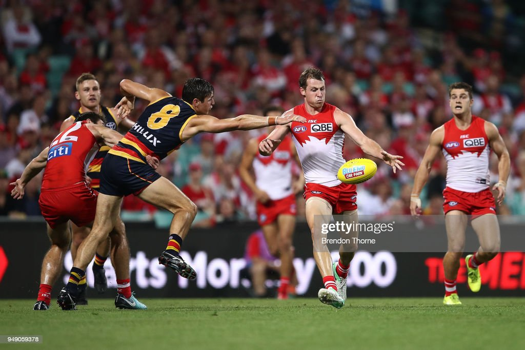 AFL Rd 5 - Sydney v Adelaide : News Photo