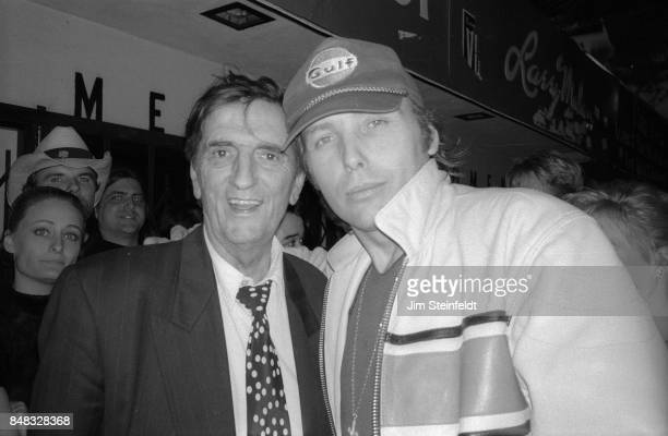 Harry Dean Stanton and Dwight Yoakam in Los Angeles California in 1997