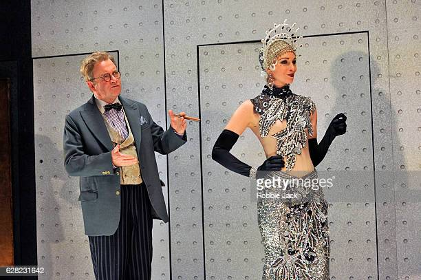 Harry Enfield as Glogauer and Amy Griffiths as Florabel Leigh in Moss Hart and George S Kaufman's Once in a Lifetime directed by Richard Jones at the...