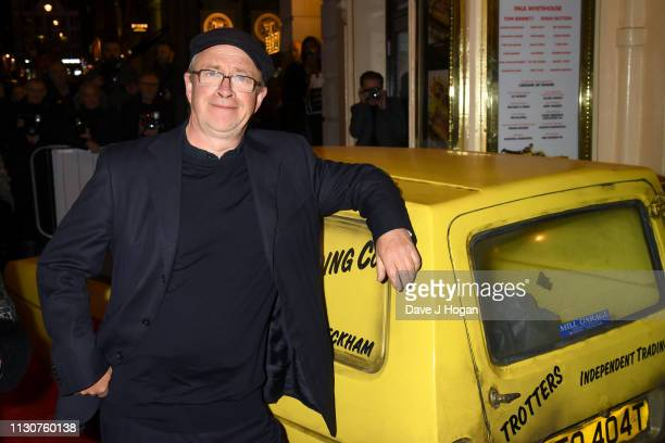 Harry Enfield attends the opening night of Only Fools and Horses The Musical at Theatre Royal Haymarket on February 19 2019 in London England