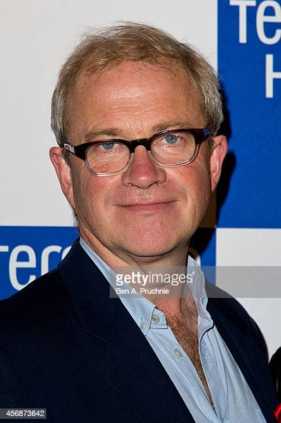 Harry Enfield attends The Terrance Higgins Supper Club at Underglobe on October 8, 2014 in London, England.