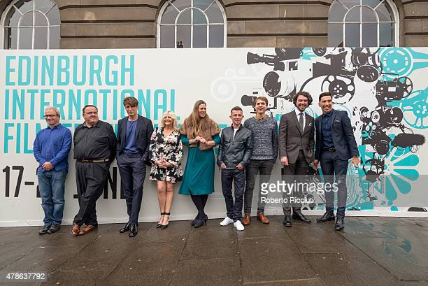 Harry Enfield Steven O'Donnell Morgan Watkins Camille Coduri Marianna Palka Paul Brannigan Joe Thomas Ryan Cage and Russell Kane attend a photocall...