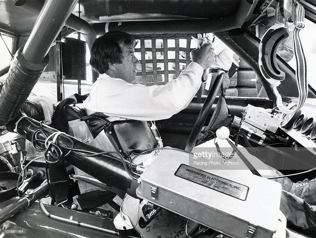 Harry Gant gets ready to start the Van Scoy Diamond Mine 500. Gant would finish in 2nd place and take home $27,675 for the race.