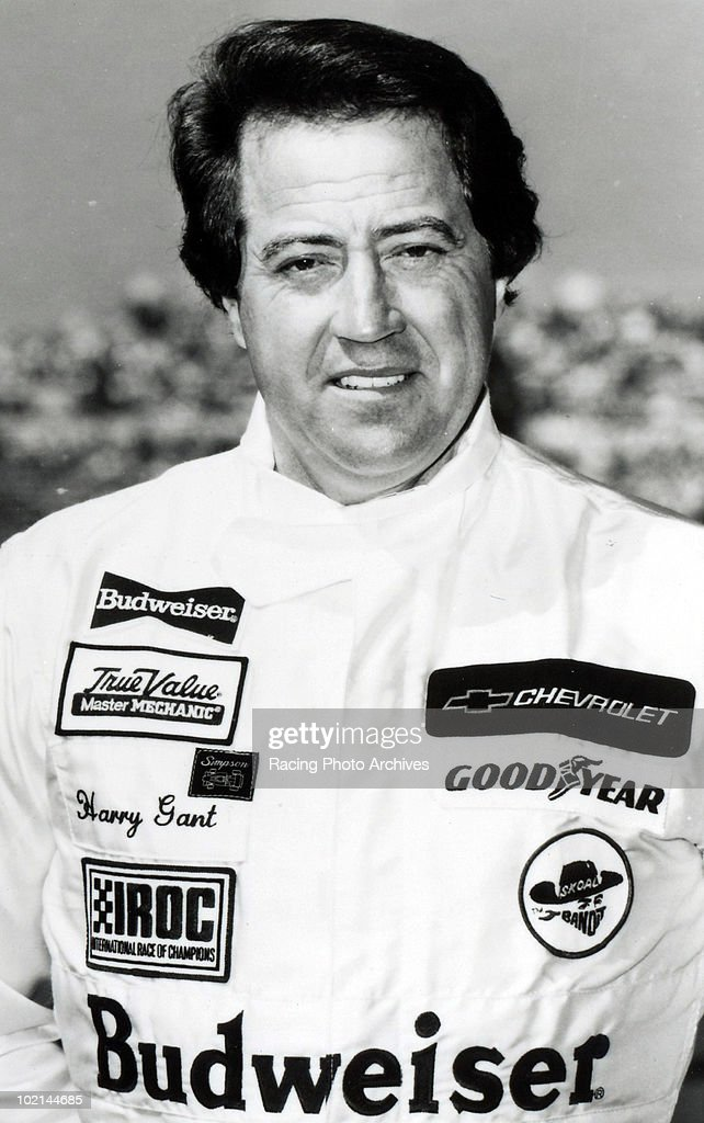 Harry Gant poses for a photo as he was one of the elite twelve drivers selected to compete in the Budweiser International Race of Champions March 14, 1986 in Daytona Beach, Florida.