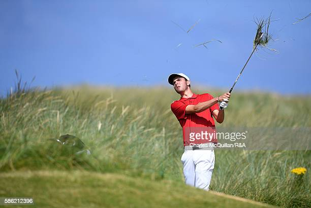 Harry Goddard of England during the Boys Home International Cup at Ballyliffin Golf Club on August 4 2016 in Donegal Ireland The annual three day...