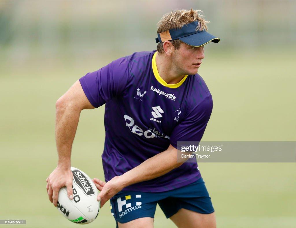 Melbourne Storm Training Session : News Photo