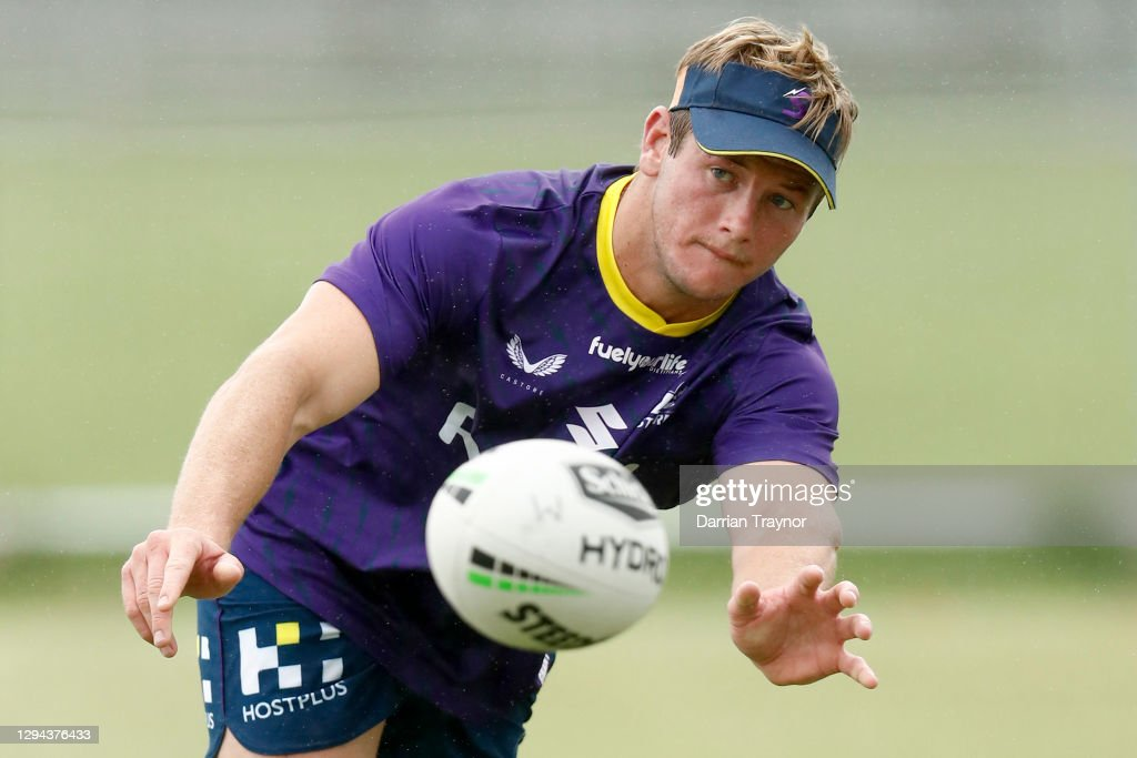 Melbourne Storm Training Session : News Photo