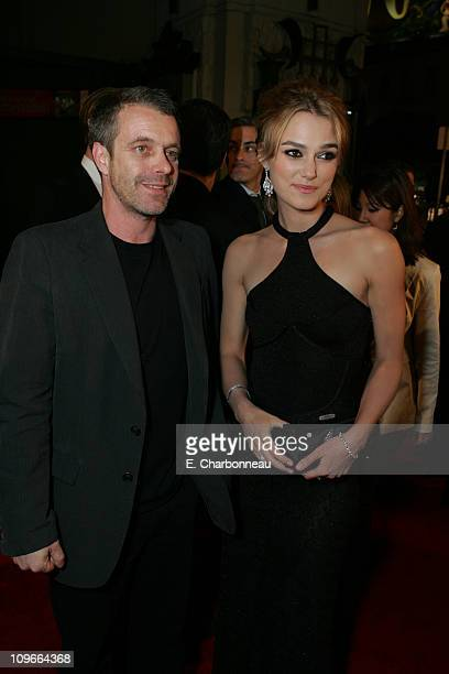 Harry GregsonWilliams composer and Keira Knightley