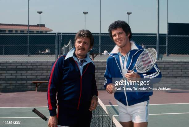 Harry Guardino Jed Allan appearing in the ABC tv series 'Good Heavens' episode 'Mixed Doubles'