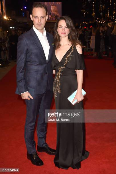 Harry HaddenPaton and Rebecca Night attend the World Premiere of season 2 of Netflix 'The Crown' at Odeon Leicester Square on November 21 2017 in...