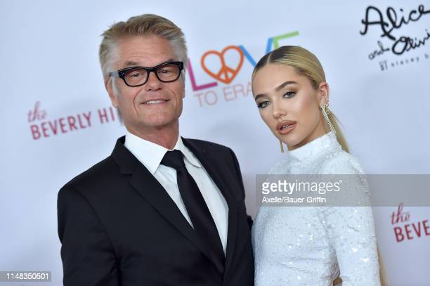 Harry Hamlin and Delilah Belle Hamlin attend the 26th Annual Race to Erase MS Gala at The Beverly Hilton Hotel on May 10 2019 in Beverly Hills...