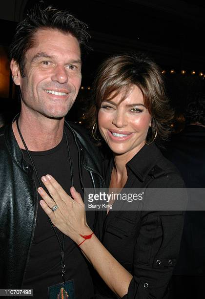 Harry Hamlin and Lisa Rinna during Make A Wish Foundation Launches A Season of Wishes at The Grove's Annual Christmas Tree Lighting at The Grove in...