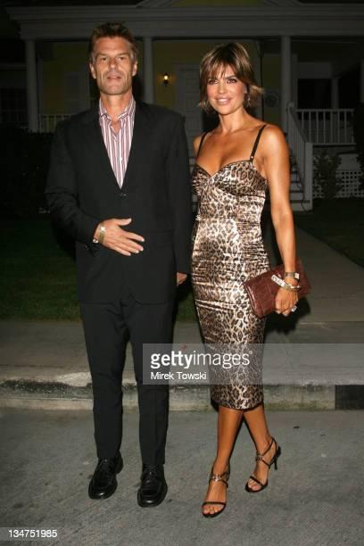 Harry Hamlin and Lisa Rinna during Tampico Beverages' El Sueno de Esperanza Gala Benefiting PADRES Contra El Cancer at Universal Studios Hollywood in...