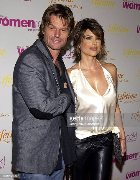 Harry Hamlin and Lisa Rinna during The 4th Annual Women Rock Songs From The Movies Arrivals at Kodak Theater in Hollywood California United States