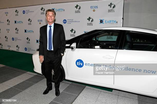 Harry Hamlin attends the 15th Annual Global Green Pre Oscar Party at NeueHouse Hollywood on February 28 2018 in Los Angeles California
