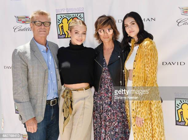 Harry Hamlin Delilah Belle Hamlin Lisa Rinna and Amelia Gray Hamlin attend Cindy Crawford and Kaia Gerber host Best Buddies Mother's Day Brunch in...