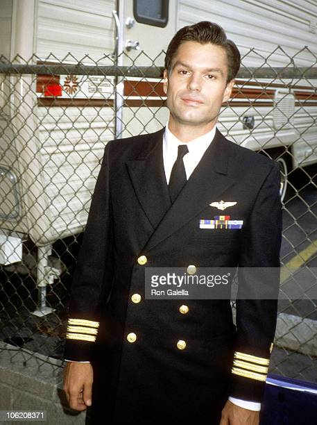 Harry Hamlin during On Location of Space TV March 5 1985 in Los Angeles California United States