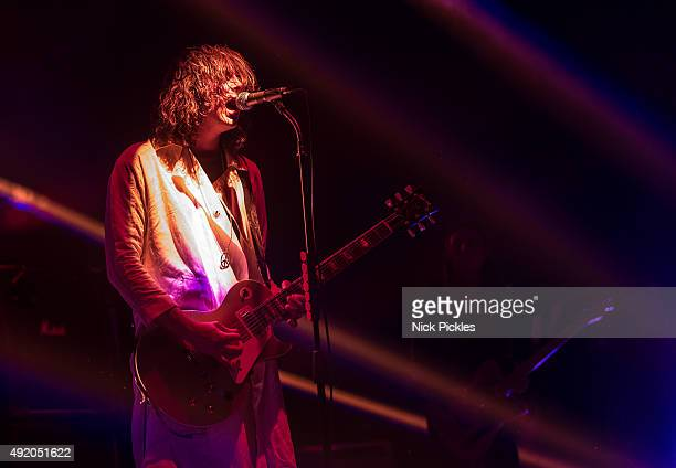Harry Harrison Koisser of Peace performs at the O2 Academy Brixton on October 9 2015 in London England