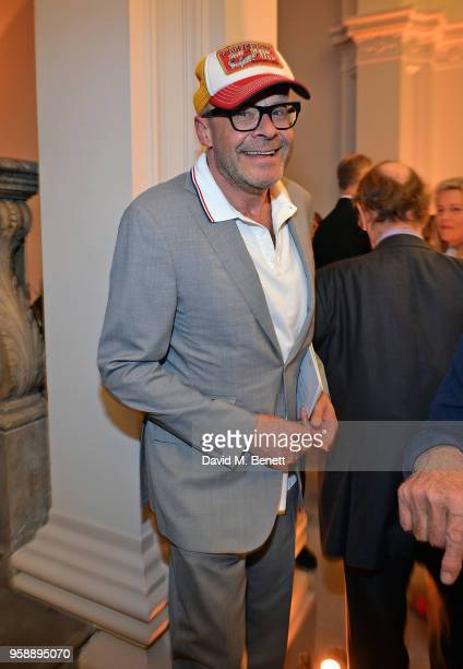 Harry Hill attends the unveiling of the newly refurbished Royal Academy of Arts celebrating the 250th anniversary of the RA on May 15 2018 in London...
