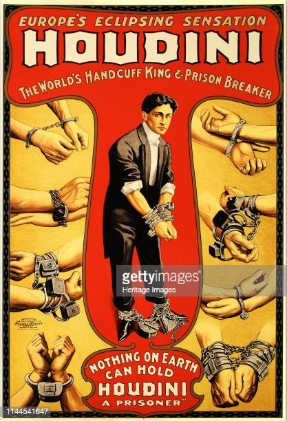Harry Houdini circa 1906 Private Collection Artist Anonymous