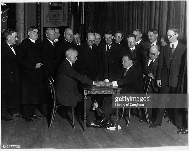 Harry Houdini longtime opponent of fraud among the Spiritualist movement shows how during a seance mediums can ring bells using their toes