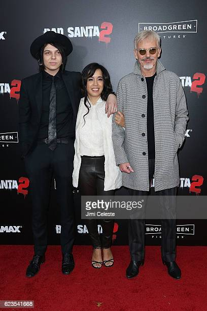 Harry James Thornton Connie Angland and Actor Billy Bob Thornton attends the New York Premiere of Broad Green Pictures and Miramax's Bad Santa 2 at...