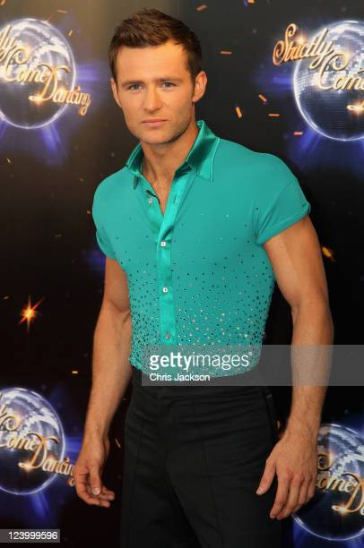 Harry Judd arrives at the Strictly Come Dancing 2011 press launch at BBC Television Centre on September 7 2011 in London England