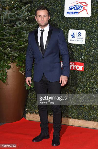 Harry Judd attends the Daily Mirror Pride Of Sport Awards at Grosvenor House on November 25 2015 in London United Kingdom