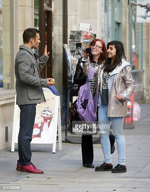 Harry Judd of McFly is seen on November 03 2012 in London United Kingdom