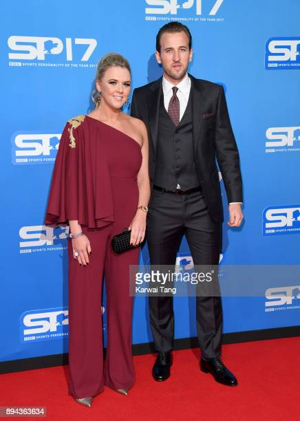 Harry Kane and Katie Goodland attend the BBC Sports Personality of the Year 2017 Awards at the Echo Arena on December 17 2017 in Liverpool England