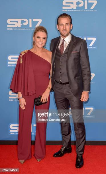 Harry Kane and wife attend BBC's Sports Personality Of The Year held at Liverpool Echo Arena on December 17 2017 in Liverpool England