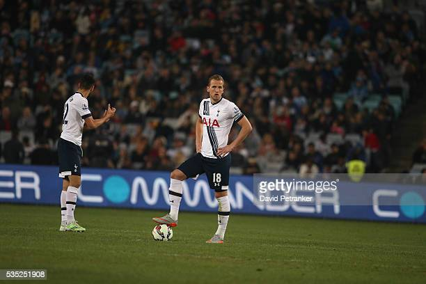 Harry Kane at the Tottenham Spurs vs Sydney FC game Tottenham Spurs win 10
