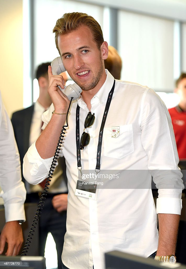 Harry Kane attends the annual BGC Global Charity Day at BGC Partners on September 11, 2015 in London, England.