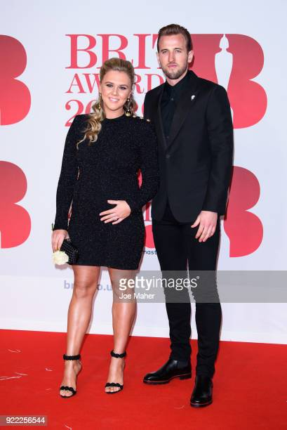 AWARDS 2018 *** Harry Kane attends The BRIT Awards 2018 held at The O2 Arena on February 21 2018 in London England