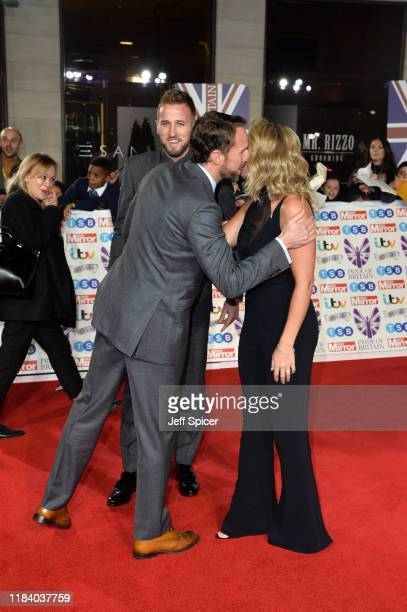 Harry Kane Gareth Southgate and Kate Kane attends Pride Of Britain Awards 2019 at The Grosvenor House Hotel on October 28 2019 in London England