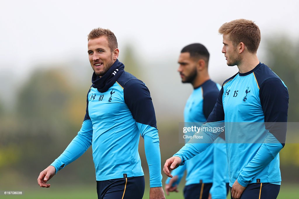 Tottenham Hotspur Training Session and Press Conference : News Photo