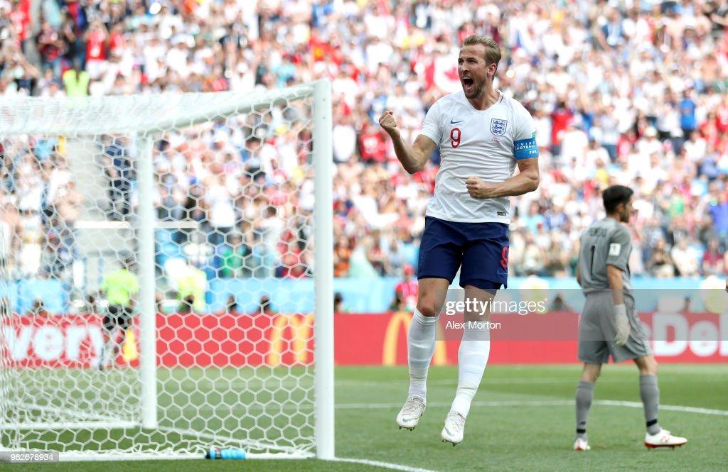 England 6 - 1 Panama - FIFA World Cup Russia 2018