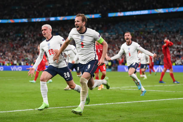 GBR: England v Denmark  - UEFA Euro 2020: Semi-final