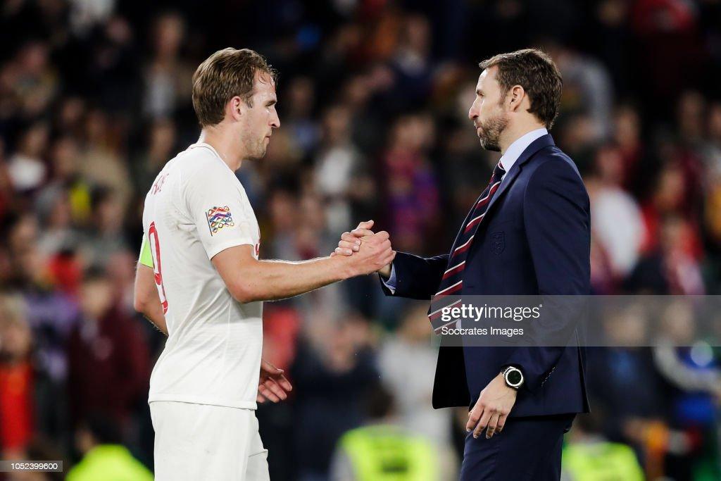 Spain  v England  -UEFA Nations league : News Photo