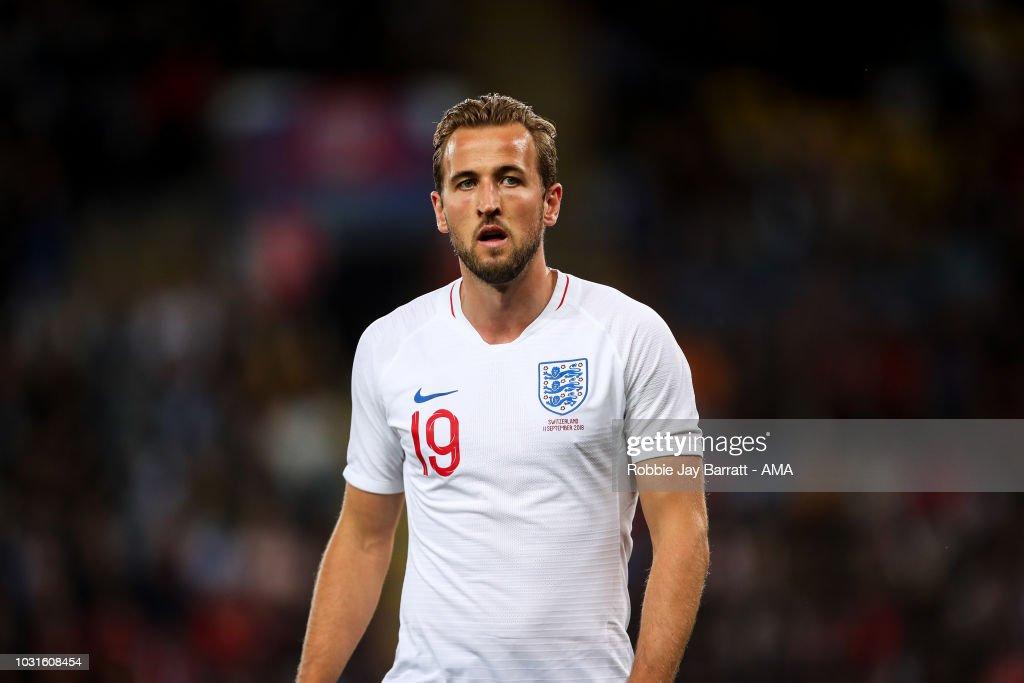 England v Switzerland - International Friendly : News Photo