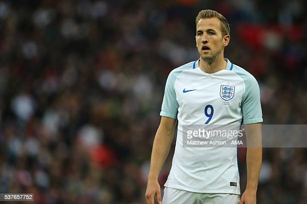 Harry Kane of England during the International Friendly match between England and Portugal at Wembley Stadium on June 2 2016 in London England