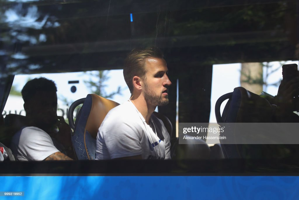 England Team Depart Russia - 2018 FIFA World Cup Russia