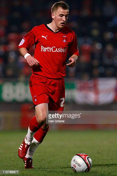 Harry Kane of Leyton Orient in action during the npower League One match between Leyton Orient and Dagenham and Redbridge at the Matchroom Stadium on...