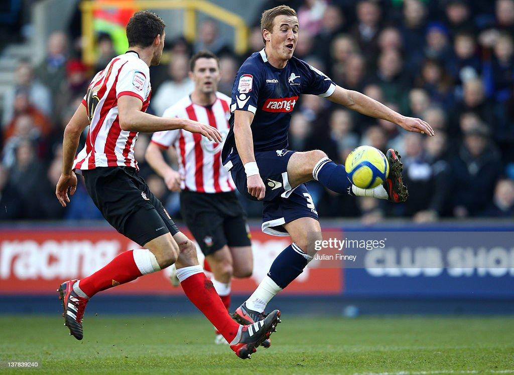 Millwall v Southampton - FA Cup Fourth Round : News Photo