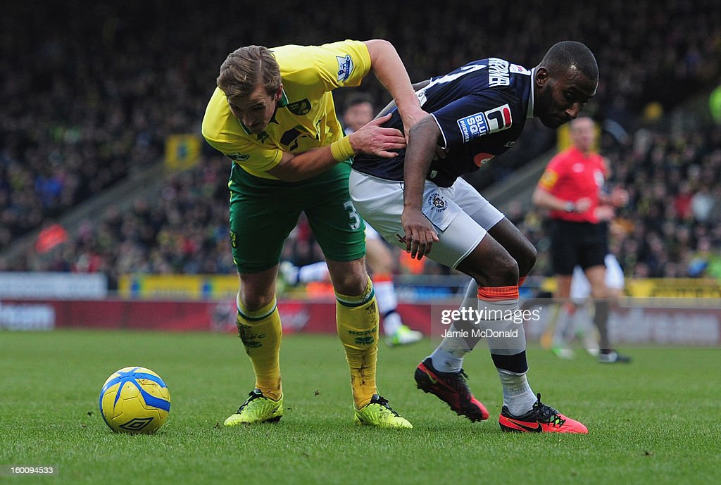Norwich City v Luton Town - FA Cup Fourth Round : News Photo