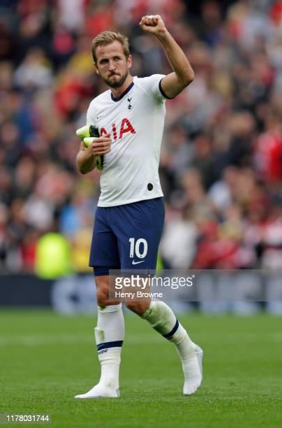 Harry Kane of Tottenham Hotspur after the Premier League match between Tottenham Hotspur and Southampton FC at Tottenham Hotspur Stadium on September...