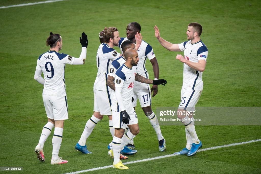 Tottenham Hotspur v Dinamo Zagreb - UEFA Europa League Round Of 16 Leg One : News Photo