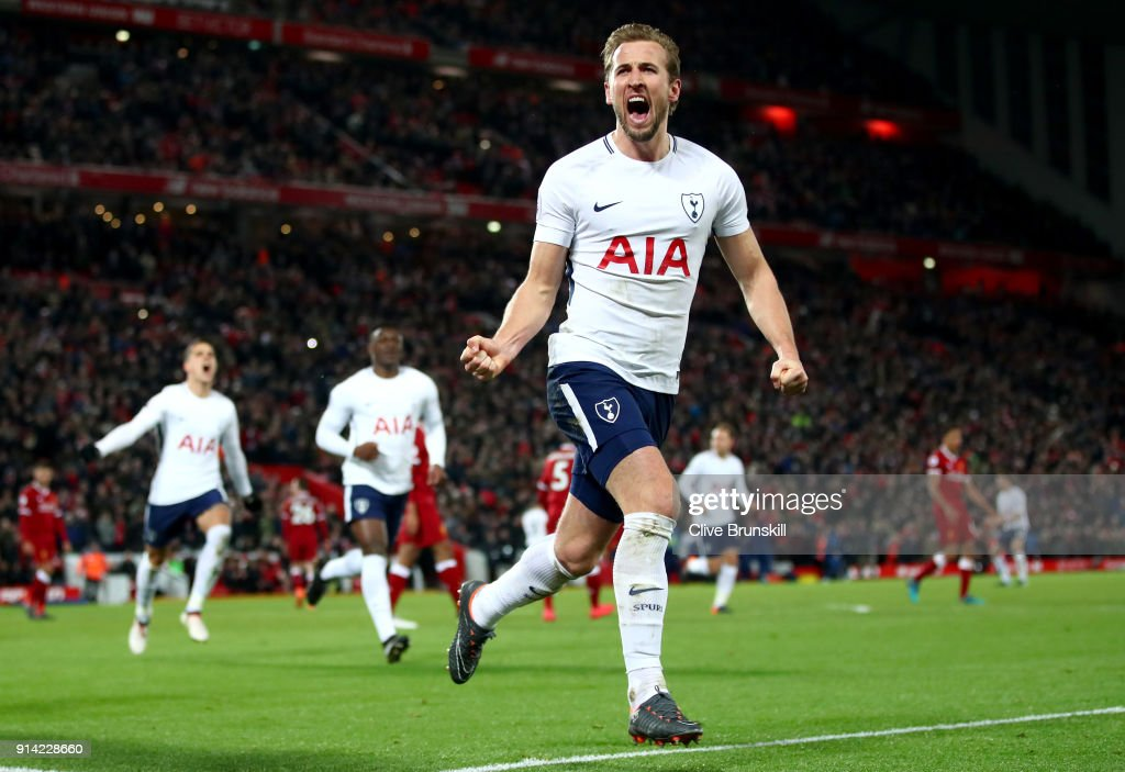Liverpool v Tottenham Hotspur - Premier League : News Photo