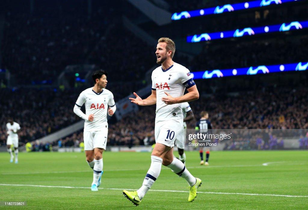 Tottenham Hotspur v Crvena Zvezda: Group B - UEFA Champions League : ニュース写真