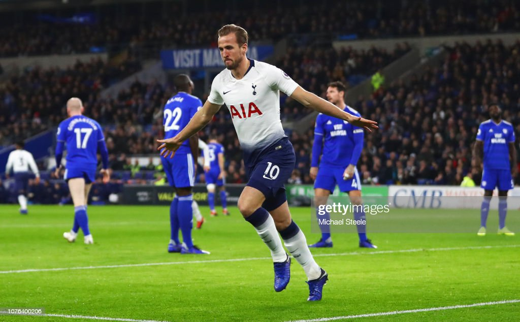 Cardiff City v Tottenham Hotspur - Premier League : News Photo